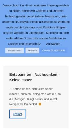 Vorschau der mobilen Webseite www.bigtime-studios.de, Bigtime Studios München - Stefan Stöcklein