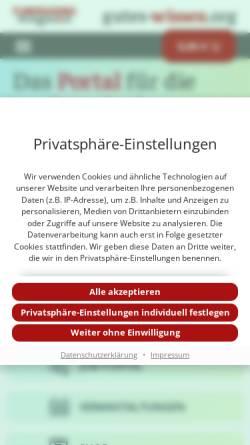 Vorschau der mobilen Webseite www.fundraiser-magazin.de, Fundraiser-Magazin