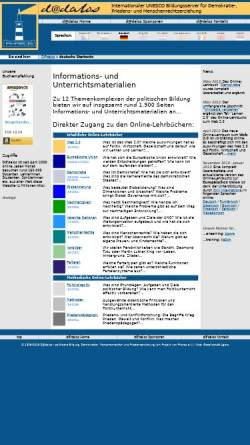 Vorschau der mobilen Webseite www.dadalos.org, Bildungsserver D@dalos: Themenkomplex Menschenrechte