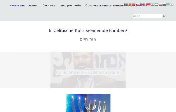 Vorschau von www.ikg-bamberg.de, Israelitische Kultusgemeinde Bamberg