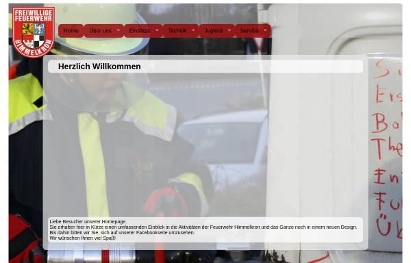 Vorschau von www.feuerwehr-himmelkron.de, Freiwillige Feuerwehr Himmelkron