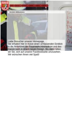 Vorschau der mobilen Webseite www.feuerwehr-himmelkron.de, Freiwillige Feuerwehr Himmelkron