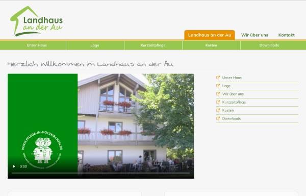Vorschau von www.landhaus-an-der-au.de, Landhaus an der Au