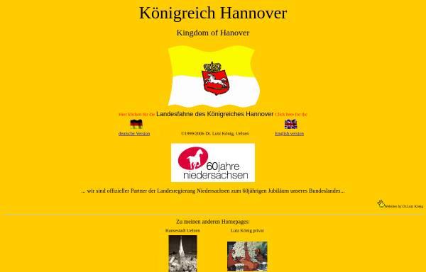 Vorschau von www.koenigreich-hannover.de, Königreich Hannover by Dr. Lutz König