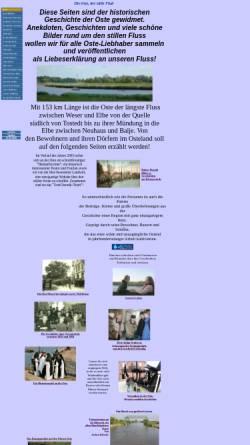 Vorschau der mobilen Webseite www.ostechronik.de, Die Oste, der stille Fluss