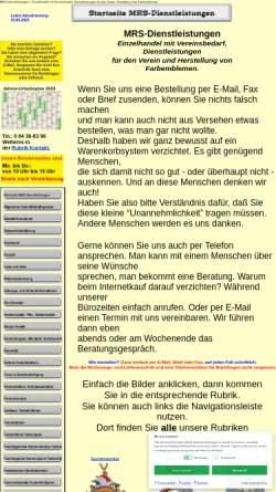 Vorschau der mobilen Webseite www.mrs-dlz.de, MRS Dienstleistungen, Wolfgang K. Hildebrand