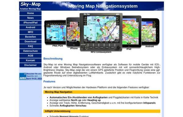 Vorschau von www.sky-map.de, RS-Datentechnik - Sky-Map