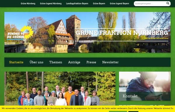 Vorschau von www.nuernberg.de, Bündnis 90/Die Grünen-Stadtratsfraktion Nürnberg