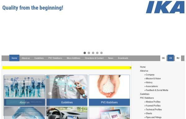 Vorschau von www.ika-wolfen.de, IKA Innovative Kunstoffaufbereitung GmbH & Co KG