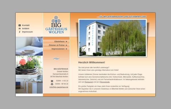 Vorschau von www.big-gaestehaus.de, BIG Gästehaus