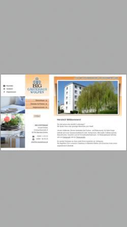 Vorschau der mobilen Webseite www.big-gaestehaus.de, BIG Gästehaus
