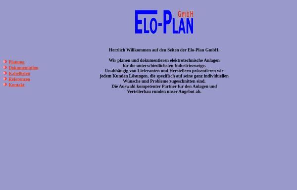 Vorschau von www.eloplan-gmbh.de, Elo-Plan GmbH