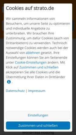 Vorschau der mobilen Webseite www.knackerelektronik.de, Knacker Elektronik, Inh. Roland Knacker