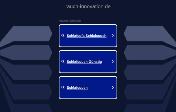 Vorschau von www.rauch-innovation.de, Rauch Innovation e.K.