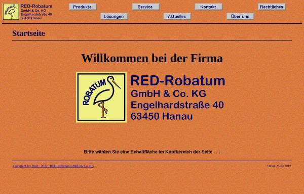 Vorschau von www.robatum.de, RED-Robatum GmbH & Co. KG