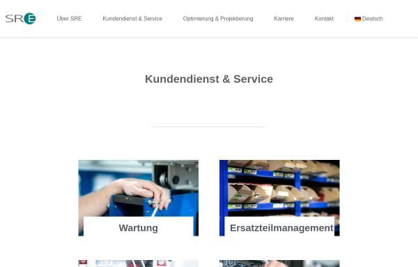 Vorschau von www.sre.de, SRE Elektrotechnik GmbH