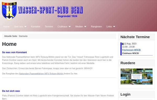 Vorschau von www.wsc-bern.ch, Wasser Sport Club Bern