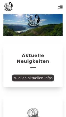 Vorschau der mobilen Webseite www.loreley-kellerei.de, Loreley-Kellerei Georg Leonhard GmbH
