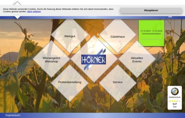 Vorschau von www.weingut-hoerner.de, Hörner, Weingut Gerhard