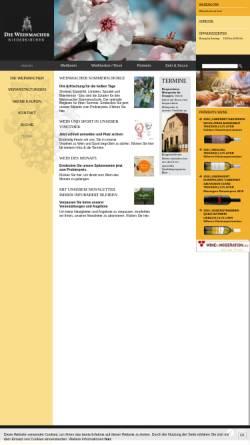 Vorschau der mobilen Webseite www.pfalzweine.de, Pfalzweine