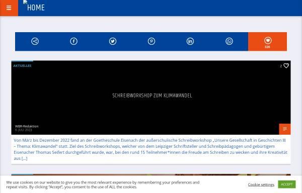 Vorschau von www.wartburgradio.org, Offener Hörfunkkanal Eisenach e.V.
