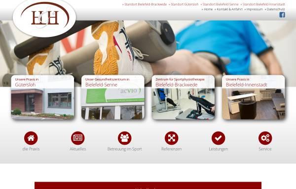 Vorschau von www.h-h-sportphysio.de, Herrmann & Harm - Praxis für Physiotherapie