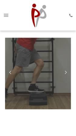 Vorschau der mobilen Webseite www.physiotherapie-parlow.de, Praxis für Physiotherapie - Dietmar Parlow
