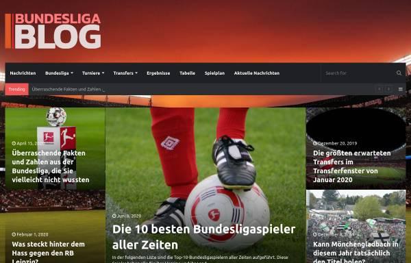 Vorschau von www.bundesliga-blog.de, Bundesliga-Blog