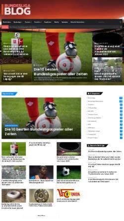 Vorschau der mobilen Webseite www.bundesliga-blog.de, Bundesliga-Blog
