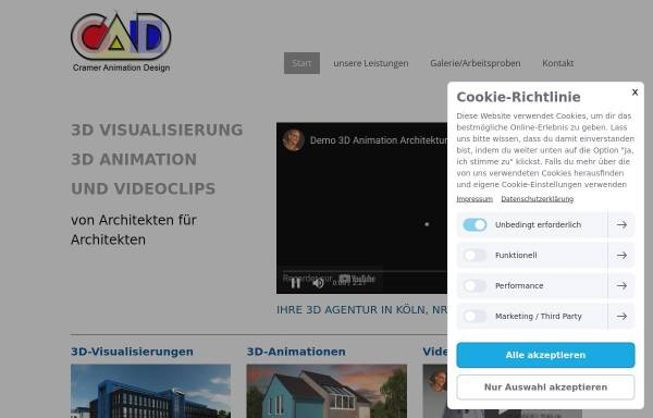 Vorschau von www.cadcramer.de, Cramer Architektur Design