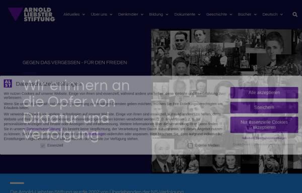 Vorschau von www.alst.org, Arnold-Liebster-Stiftung