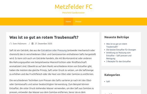 Vorschau von www.metzelder-fc.de, Metzelder, Christoph - Fanclub