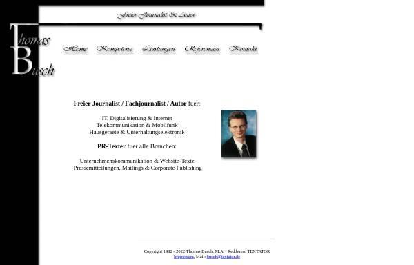 Vorschau von www.textator.de, Busch, Thomas