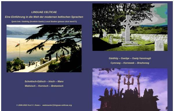 Vorschau von www.linguae-celticae.org, Linguae Celticae