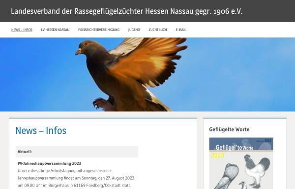 Vorschau von www.lv-hessen-nassau.de, Landesverband Hessen Nassau