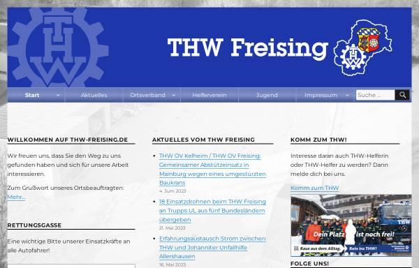 Vorschau von www.thw-freising.de, THW Ortsverband Freising