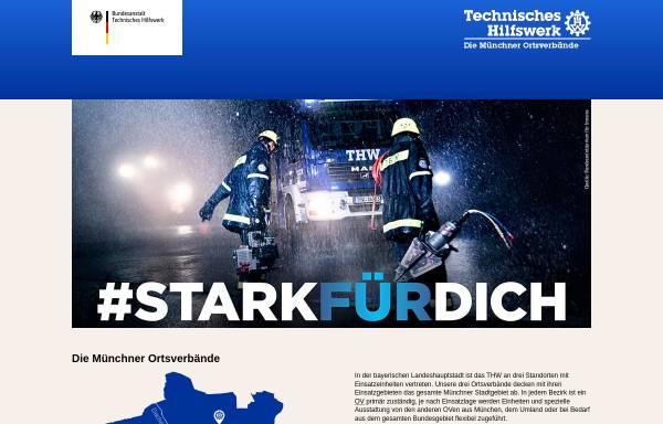 Vorschau von www.thw-muenchen.de, THW Ortsverband München