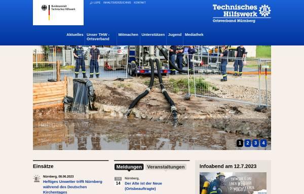 Vorschau von www.thw-nuernberg.de, THW Ortsverband Nürnberg