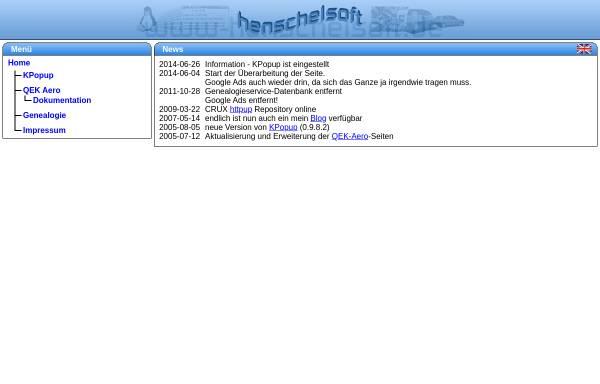Vorschau von www.henschelsoft.de, Henschelsoft