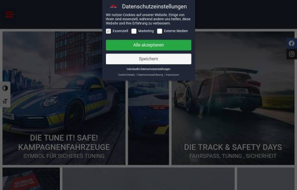 Vorschau von www.tune-it-safe.de, Tune it! Safe!
