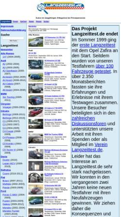 Vorschau der mobilen Webseite www.langzeittest.de, Langzeittest e.V.