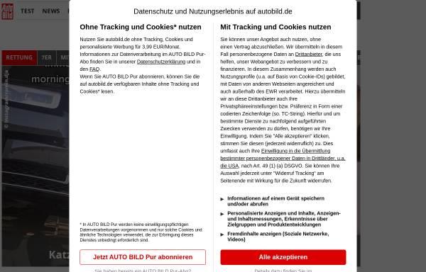Vorschau von www.autobild.de, Auto Bild