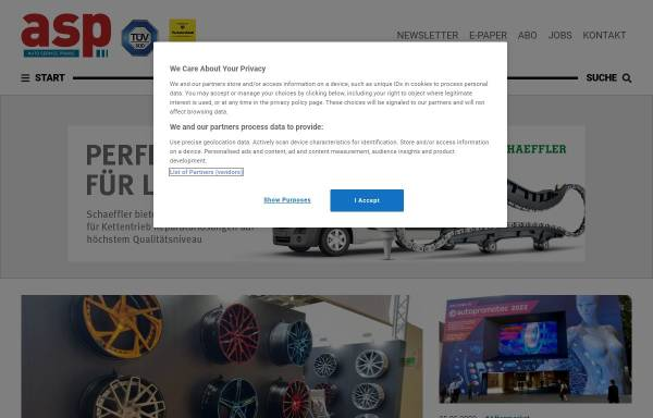 Vorschau von www.autoservicepraxis.de, Auto Service Praxis
