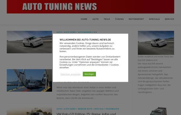 Vorschau von www.auto-tuning-news.de, Auto Tuning News