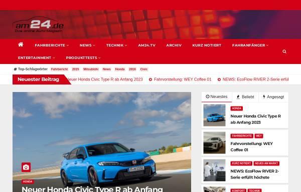 Vorschau von auto-magazin24.de, Auto-Magazin24