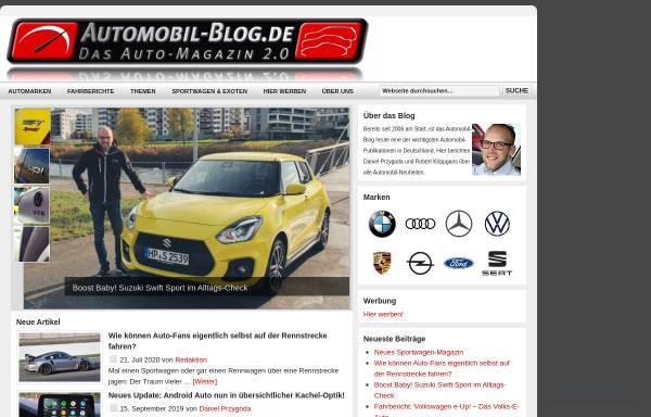 Vorschau von www.automobil-blog.de, Automagazin 2.0