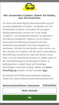 Vorschau der mobilen Webseite ww2.autoscout24.de, Automagazin von AutoScout24