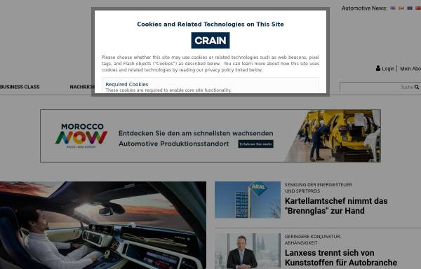 Vorschau von www.automobilwoche.de, Automobilwoche