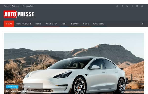 Vorschau von auto-presse.de, Auto-Presse.de