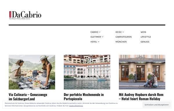Vorschau von www.dacabrio.de, DaCabrio
